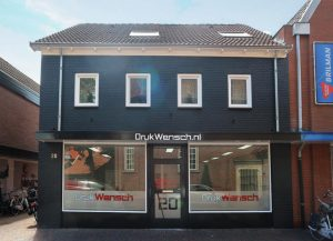 Drukwensch showroom in Losser, Overijssel