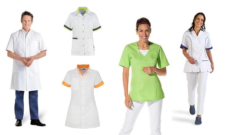Zorgkleding of medische kleding zoals doktersjassen en zorgjassen